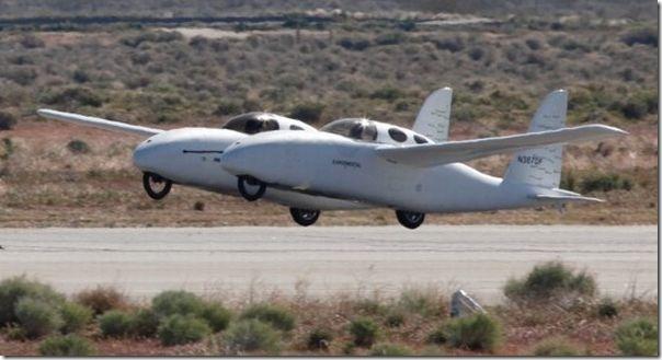 Burt Rutan's Hybrid Gas-Electric, Road-Air Vehicle: Model 367