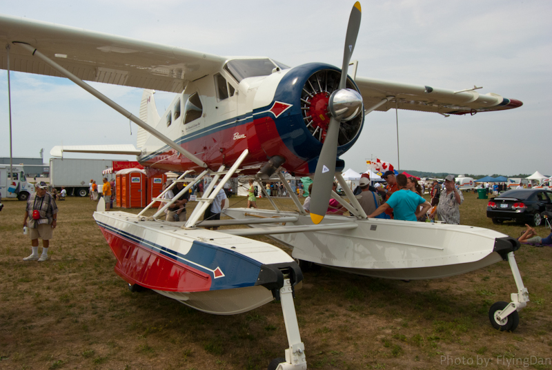 deHaviland DHC2 Beaver at the 2011 Waterloo Air Show